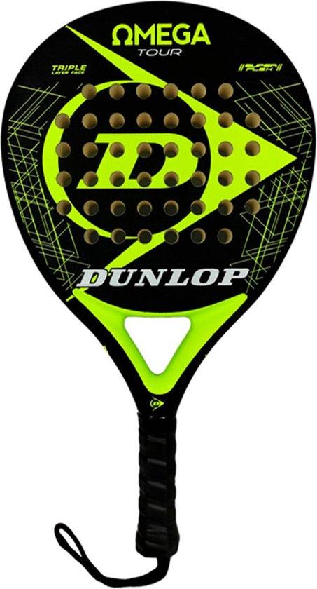 Dunlop Omega Tour Yellow Fluor Padelracket